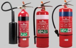 IMAGE: Fire Extinguishers for hire or rent.